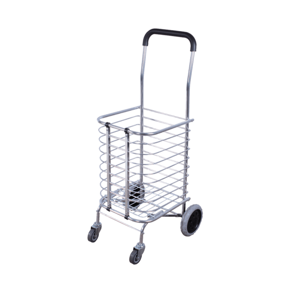 Transport cart DJTR 35 AL - with an aluminum basket, lightweight and foldable.
