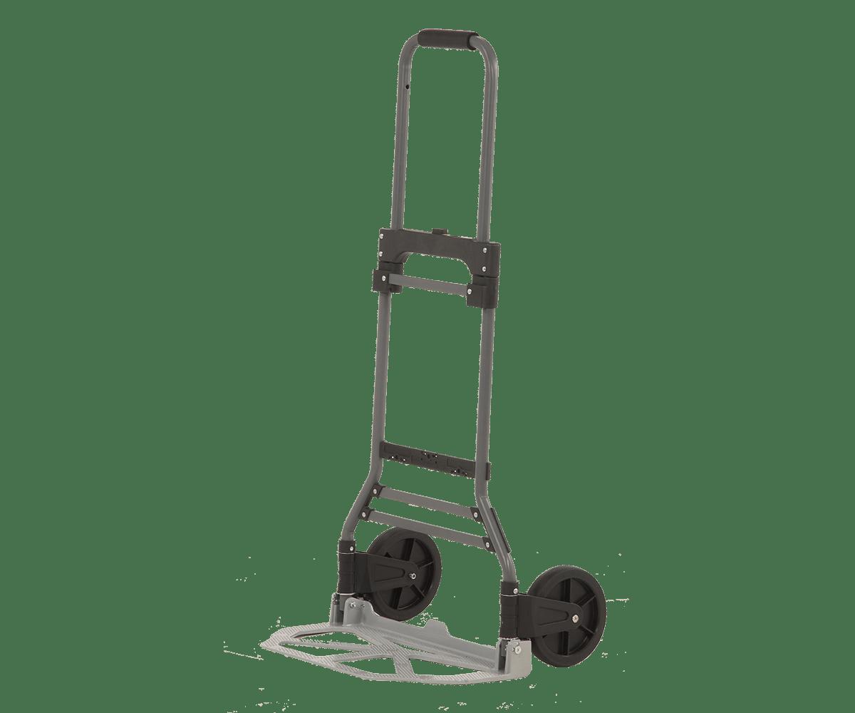 Транспортна количка DJTR 100 STAL - на снимката общ изглед на количката в разгънато състояние.