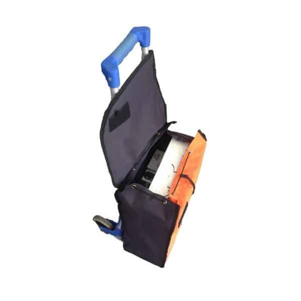 Transport cart DJTR 50 ST AL - Combined with transport cart bag.