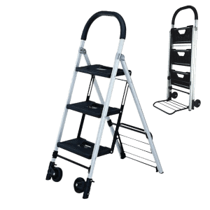 Транспортна количка - стълба DJTR 120 - комбиниран продукт - количка и стълба за хора до 120 кг.