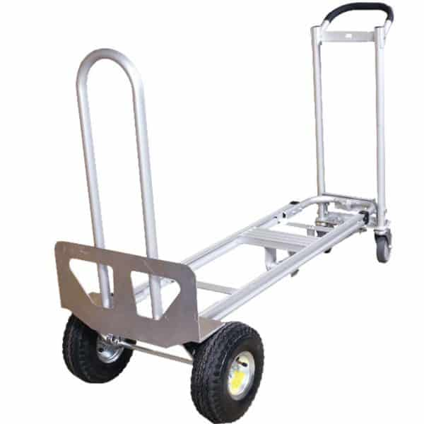 Transport cart DJTR 350 AL – three-positioned. The picture shows the platform trolley version.