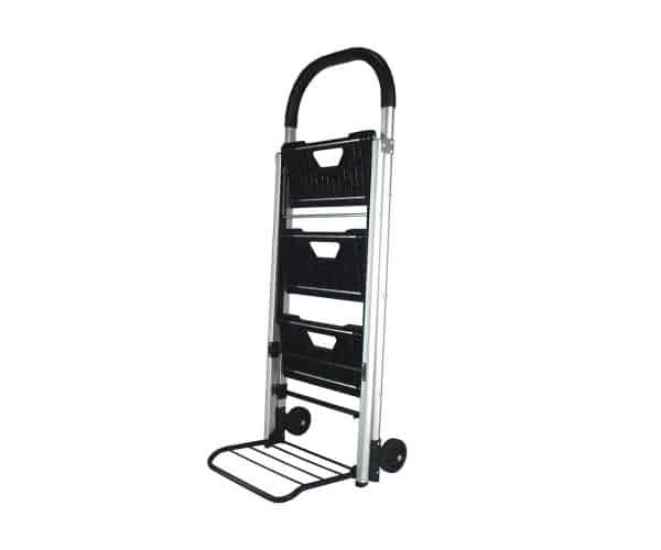 Transport cart / ladder DJTR 120 - this is a picture the transport cart function where goods weighing up to 60 kg can be transported.