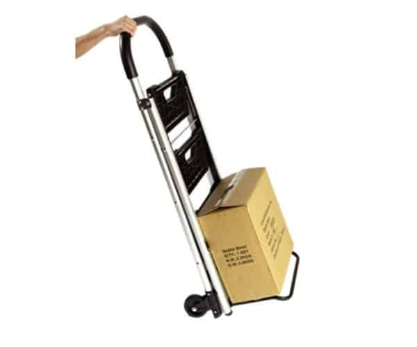 Transport cart / ladder DJTR 120 - picture showing carrying load