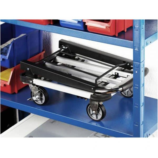 Aluminium platform cart it is easy to fold and is therefore convenient for storing.