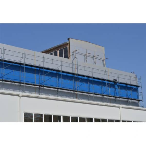 Фасадно скеле GD 42-48 изградено на обект и готово за експлоатация.