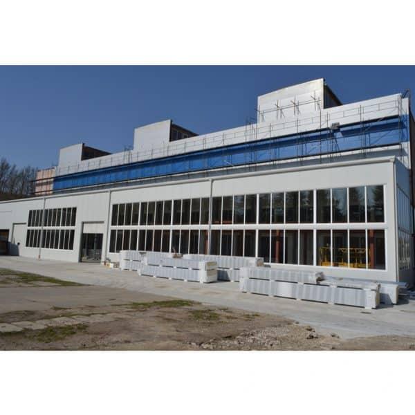 Фасадно скеле GD 42-48 приложение на строителен обект.