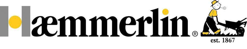 Haemmerlin - производител на строително оборудване. Надпис – лого