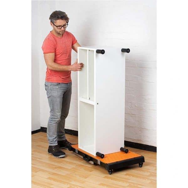 Преносима работна маса 4 в 1 - Meister - платформена количка за транспортиране на мебели и друг багаж до 150 кг.