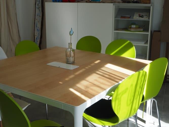 има ли достатъчно място около трапезната маса