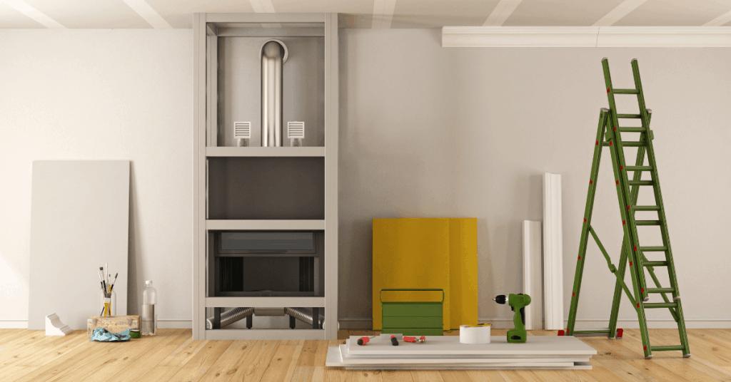 Ремонт на апартамент в процес