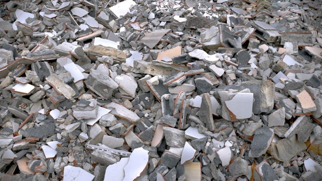 Купчина строителни отпадъци