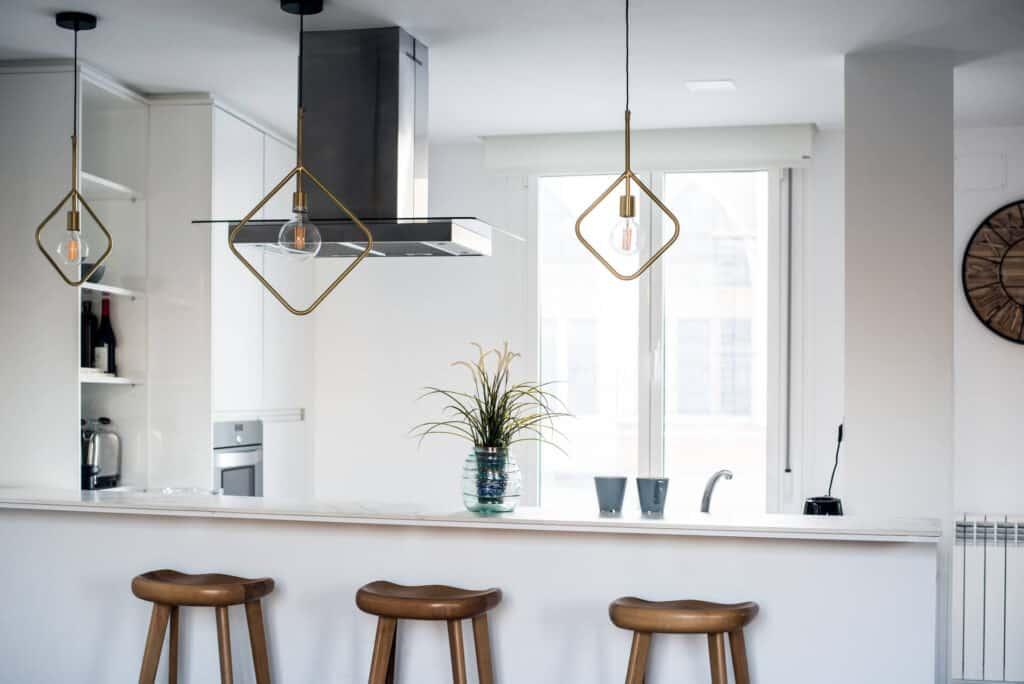 Осветителни тела в кухня